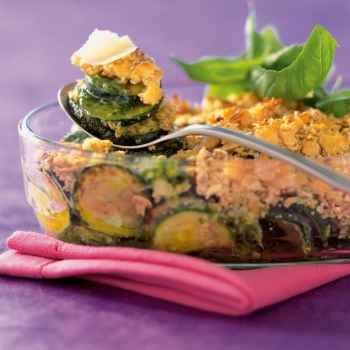 Crumble de courgettes au pesto et au parmesan - http://www.cuisineetvinsdefrance.com/,crumble-de-courgettes-au-pesto-et-au-parmesan,24113,11707.asp Testé et approuvé !!!