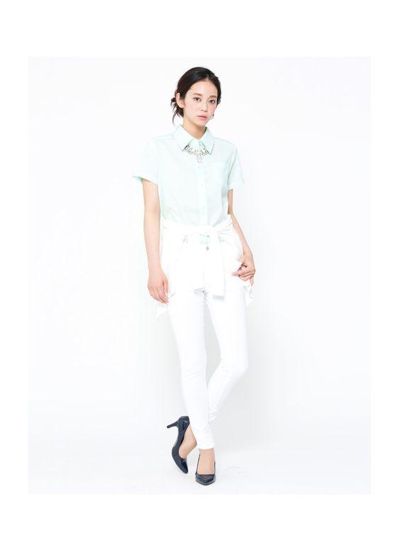 パステルカラーシャツ − レディースファッション通販 DEPARTMENT(デパートメント)
