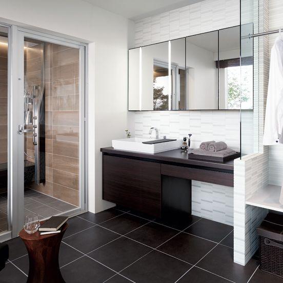 Lixil 洗面化粧室 ルミシス ベッセルタイプ モダンバスルーム 洗面所 インテリア ホテル 洗面台