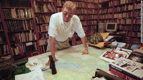 Author Tom Clancy, master of the modern-day thriller, dead at 66