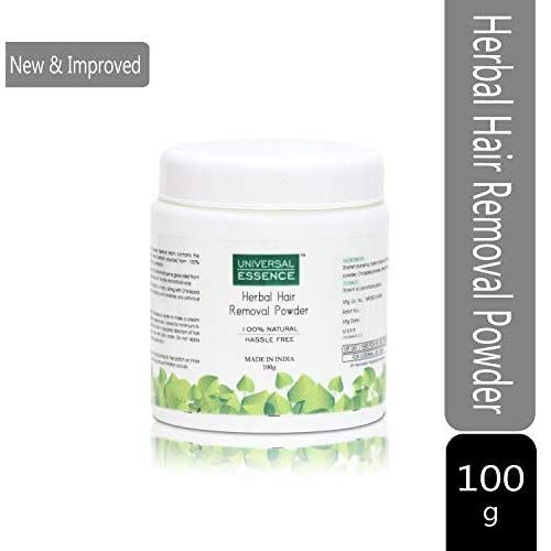 Universal Essence Herbal Hair Removal Powder With After Care Daily Moisturizer Hair Removal Pack 100 Gms Herbalism
