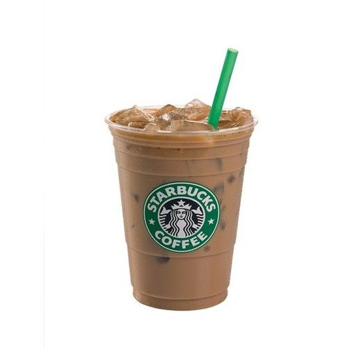 16Oz ICED Sugar-Free Hazelnut soy latte- 110 calories, enjoy <3.