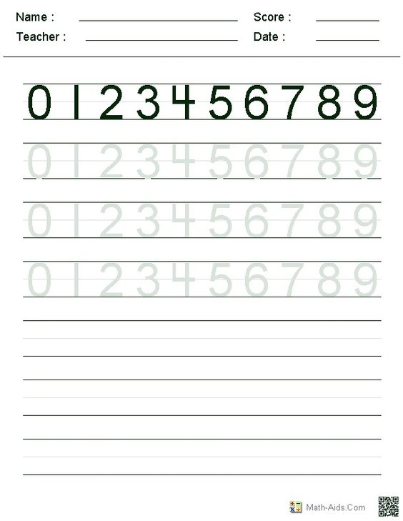 Number Names Worksheets number practice writing : Number Names Worksheets : number writing practice for kindergarten ...