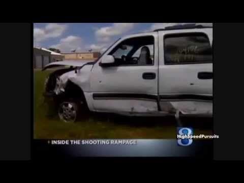 Michigan Police Chase Multiple Murder Suspect Rodrick Dantzler (Dashcam Video)