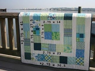 Tutorial for easy charm squares quilt