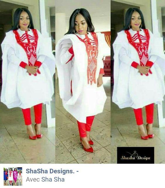 Gandoura femmes #ChachaDesign #tenueafricaine
