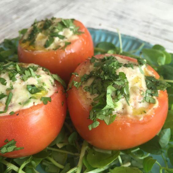 Tomate Rellenos con Atún y Palta - blovver