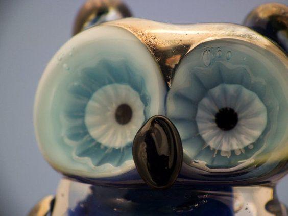 Bonzai lampwork owl bead sra by DeniseAnnette on Etsy, $27.00