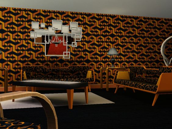 The office, that extra we room that can you can shut your work life from your home life, always money well spent so go wild with this tiger inspired room.