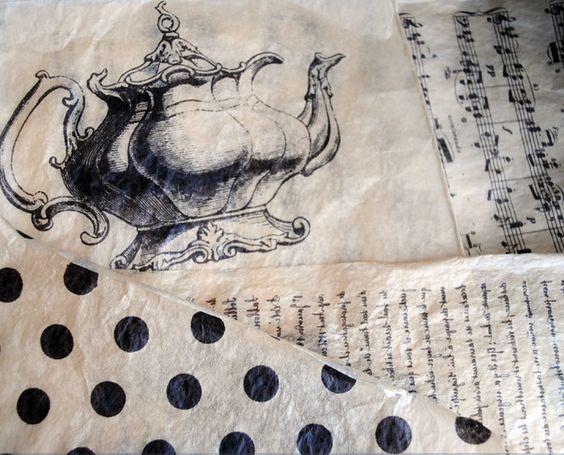 Artful Affirmations: Tissue Paper Transfer Video!