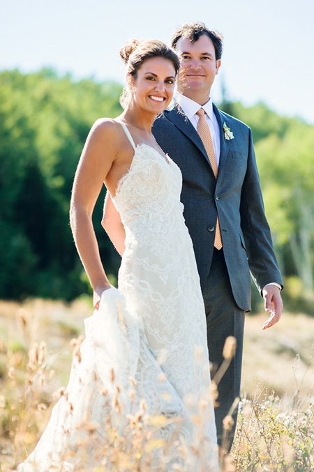 Brides: A September Wedding at the St. Regis Deer Valley in Park City, Utah