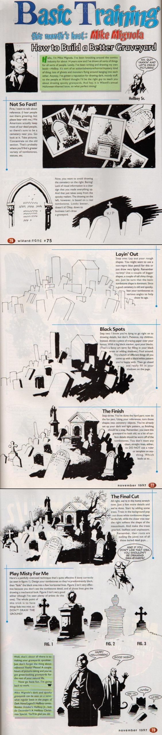 How to Build a Better Graveyard, by Mike Mignola