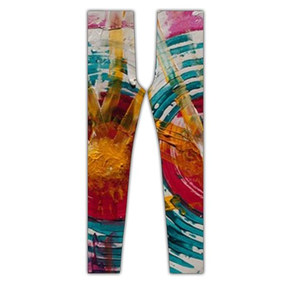 Art Therapy Full Print Leggings