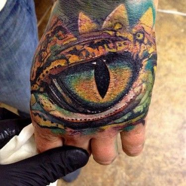 Dragon eye eyes and hands on pinterest for Dragon eye tattoo