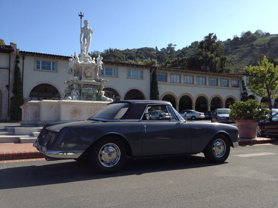 1960 Facel-Vega Facellia, an elegant design with surprisingly modern vehicle architecture and packaging, and 25 mpg!