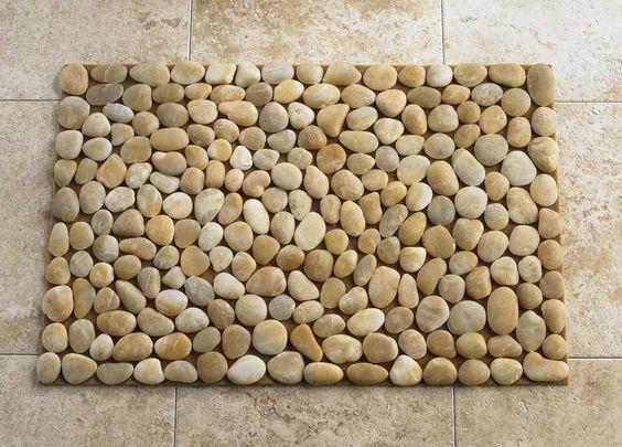 Pinterest the world s catalog of ideas for River stone mat