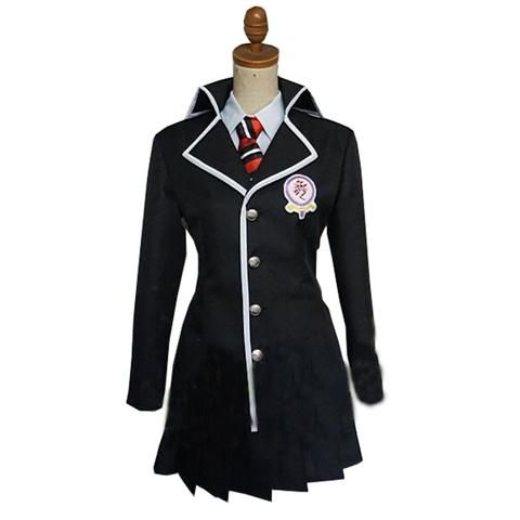 Blue Ao No Exorcist Rin Okumura Cosplay Anime Mens Uniform School Outfit Blazer