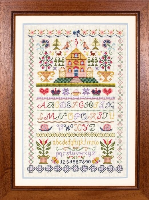 Free Cross Stitch Sampler Patterns | Traditional+cross+stitch+samplers