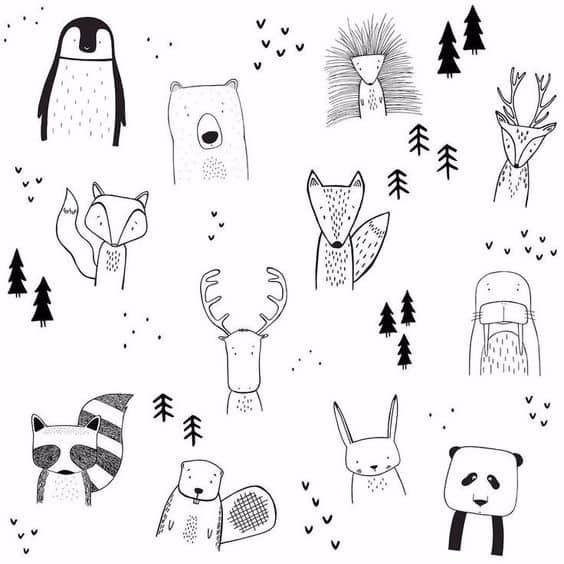 Simple Animal Patterns