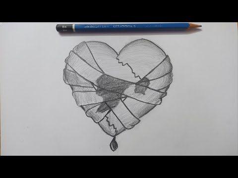 رسم قلب حب للمبتدئين رسم سهل تعليم الرسم للأطفال رسومات سهله تعلم الرسم Youtube