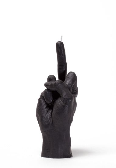 Pharrell Williams Hand Gesture Candles