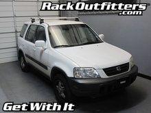 Honda CR-V Thule Rapid Traverse SILVER AeroBlade Base Roof Rack '99-'01