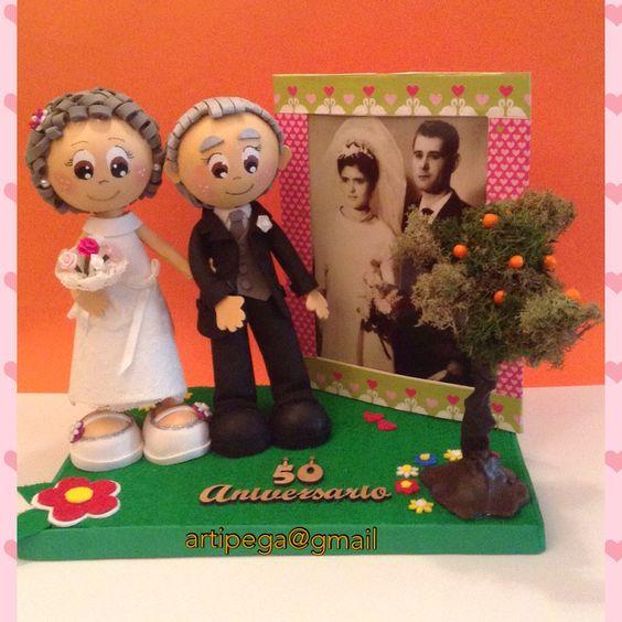 Fofuchos personalizados detalle de regalo para for Detalles de aniversario de bodas
