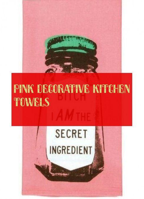 Pink Decorative Kitchen Towels Decorative Kitchen Towels Kitchen Towels Kitchen Decor