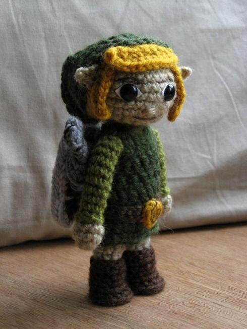 Link Crochet doll