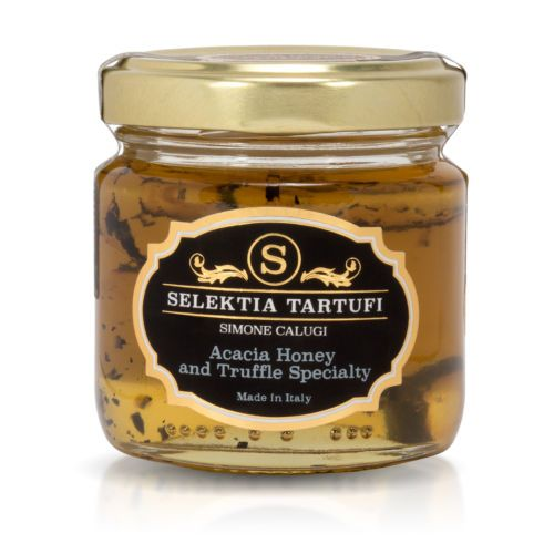 Selektia Tartufi Italian Gourmet Acacia Honey With Black Summer