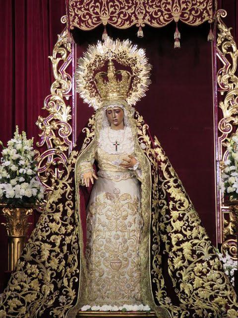 Pin De Ggtff Ygdgjjh En Madre Semana Santa Sevilla Semana Santa Virgen Dolorosa