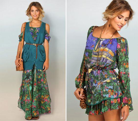 Farm print dress