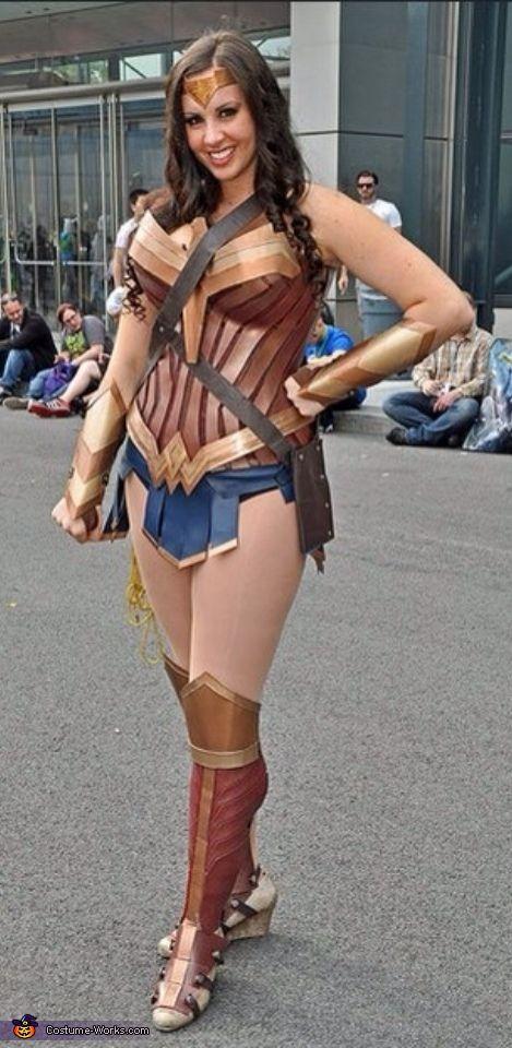 Conservative wonder woman costume-9138