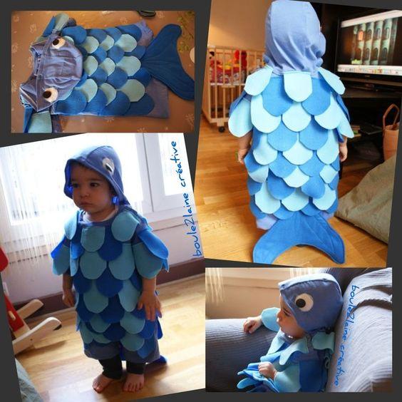J'aime les défis, j'aime faire plaisir... Aurélie, m'a demandé si je pouvais faire (en urgence) un costume de poisson ou de crabe pour son...