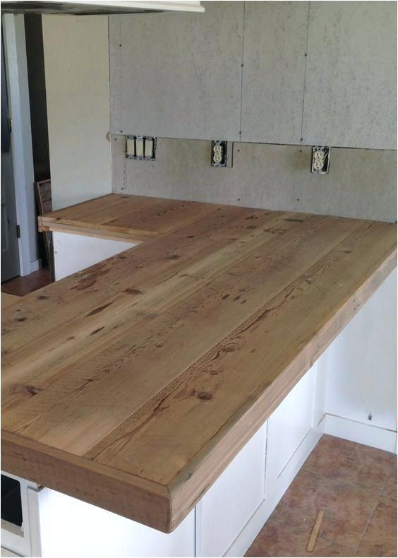 How To Build A Wood Countertop Wood Kitchen Best Of Reclaimed Wood