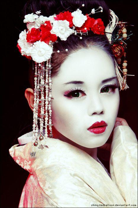 Magnifique femme japonaise.