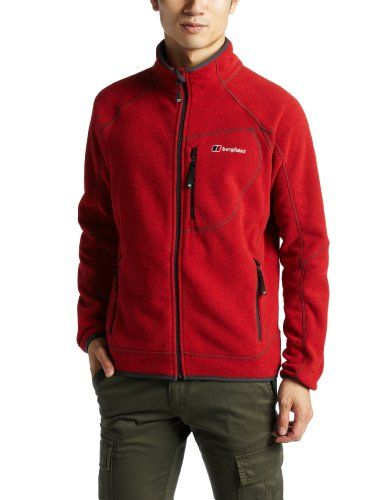 Red Fleece Jacket | Outdoor Jacket