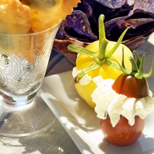 Gefüllte Mini-Tomaten - BRIGITTE