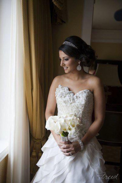 Another shot of Keyana's beautiful wedding hair. Still looking for hair inspirations for my own!