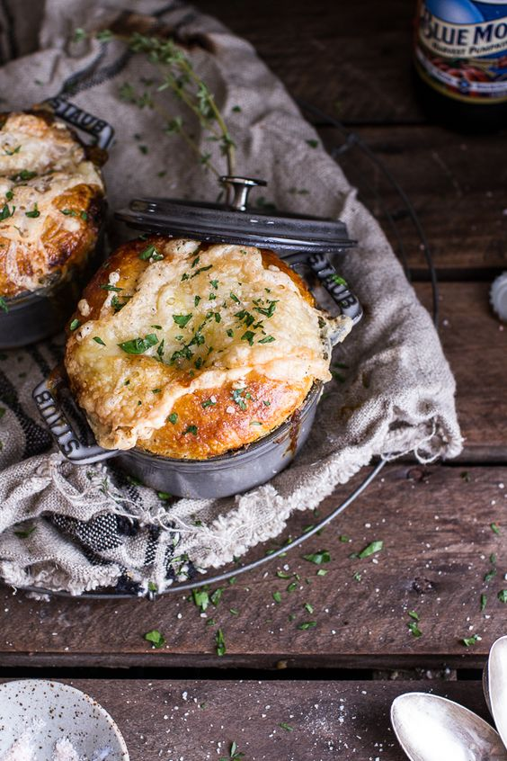 Butternut Squash and Beefy Mushroom Pot Pies w/Flakey Taleggio Crust | halfbakedharvest.com @hbharvest
