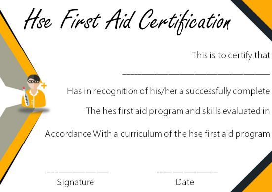 First Aid Certificate Template 15 Free Examples And Sample Templates Free Download Template Sumo Certificate Templates Certificate First Aid