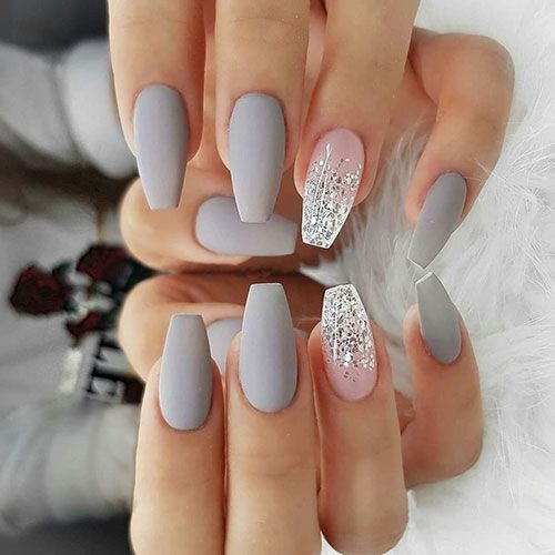 59 Best Matte Nail Designs Colors Ideas 2020 Guide In 2020 Cute Acrylic Nails Nails Today Classy Nails