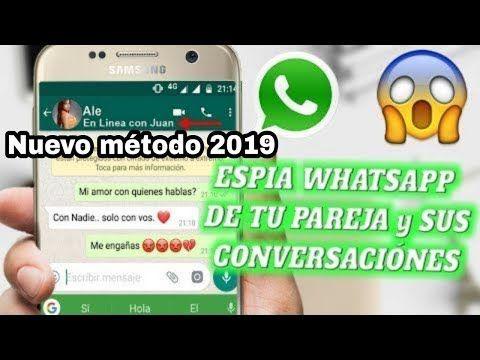 Como Revisar El Whatsapp De Tu Pareja Desde Tú Celular Y Mirar Si Es Infiel 2019 Youtube Youtube Interactive Language