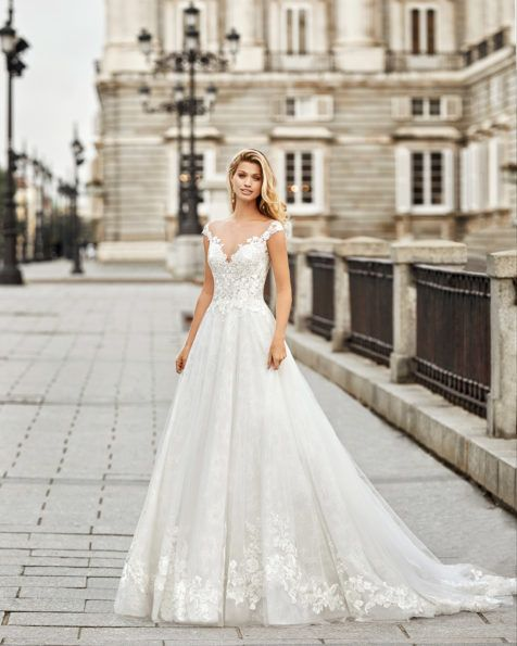 Nobsa Bridal 2020 Aire Barcelona Collection Princess Style Wedding Dresses Ball Gown Wedding Dress Wedding Dresses