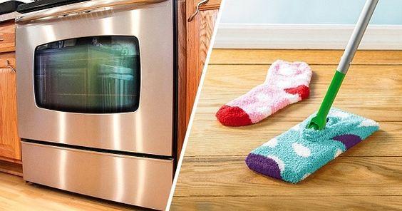 Ninguém gosta da hora das limpezas. Mas para conseguir uma limpeza mais rápida, fácil e sem precisar de se esforçar muito, nós temos alguns truques para lhe mostrar!