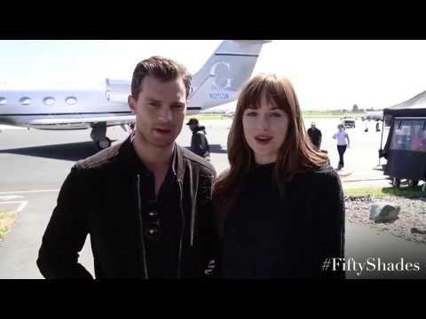 #JamieDornan and #DakotaJohnson - Message for the fans - Trailer Online Scenes Set 2017 - Fifty Shades Darker Movie