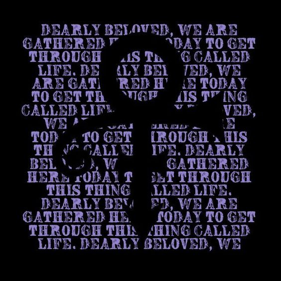 Prince RIP Tribute Life Quote Symbol Purple Rain Men's Novelty Graphic T shirt #LimpinLarrysTshirts #GraphicTee