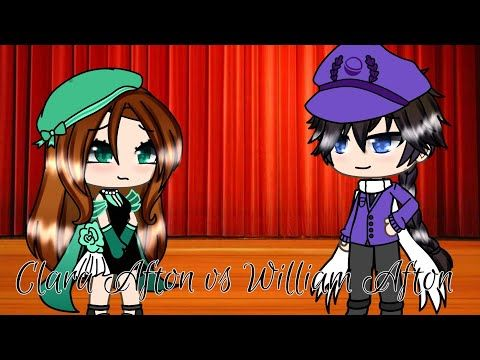 Clara Afton Vs William Afton Singing Battle Gacha Life Late 200 Sub Special Youtube In 2020 Afton Stop Motion William Afton