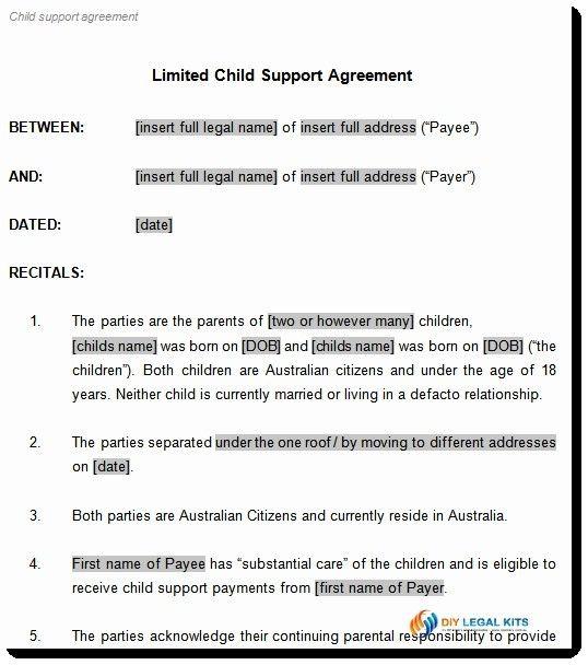 Child Custody Agreement Template California Custody Agreement Child Custody Child Support