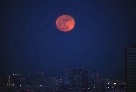今年最初の満月 東京
